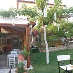 Taverna Kipos in May