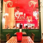 Troia outside seating