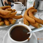 The best churros & chocolate ever!