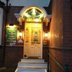 Beautiful Entrance to the Whitehaven Guest House in Whitby Bay