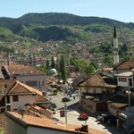 View from apartment of Sarajevo - Halvat