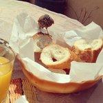 Breakfast guest.