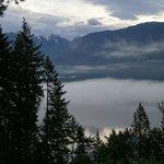 View from Yoga Studio at Mt. Trek