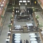 wedding at the Hyatt