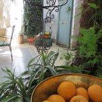 Dar Malak - courtyard