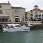 Le Dream'On sur le port de Saint-Martin de Ré