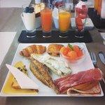 Phenomenal breakfast