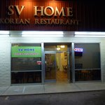 SV Home Korea Restaurant.  Across the street from the main entrance to Fort Huachuca.
