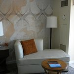 Sitting area in room