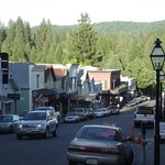 downtown Nevada City (Broad Street)