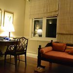 Day bed/sofa and writing desk