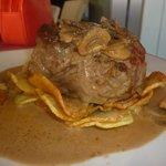 What a steak!
