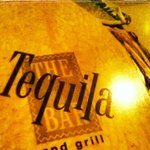 "The Menu ""The Tequila Bar"""