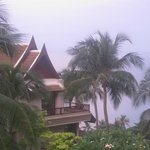 Accommodation building overlooking Andaman Sea