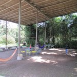Coverd Play area is a useful asset for the rainy cloud forest climate