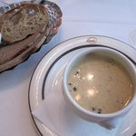 The Korvasienikeitto Soup: two of these will cost you 28 euros