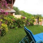 Grass terrace of room 6