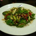 Asian vegetarian stir fry