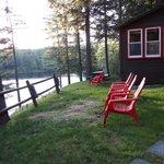 Outside Loon Lodge