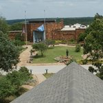 Woolaroc museum from the observation tower