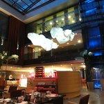 Restaurant y salones . un hermoso hotel muy bien ubicado