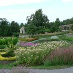 Formal gardens and Stone Gazebo