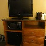 TV,Micro, & frig.
