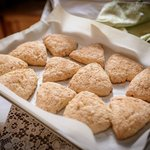 Amazing Lemon ginger scones