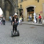 Segways available at the hostel