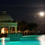Full Moon at the Pool