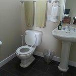 Bathroom in the bastersuite