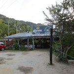 Awesome lobster place on road just past resort