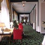 Corridor to main dining room