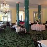 Main dining room during afternoon tea