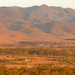 View from Sunset Hill, Spear Creek Station Caravan Park