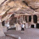 The tombs at Petra