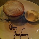 great dessert-with personal touch in chocolate