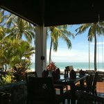 Sunny beachside lunch at Cba