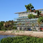 Frontal view of Royal Antibes Hotel