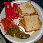 Masala Omlete sandwich