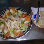 hmm lovely chicken salad