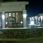 View from Flora restaurant in Afandou Village