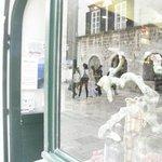Shop window from outside