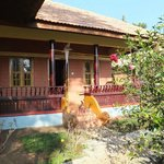Bungalow accommodation, very spacious with private balcony