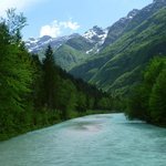 Soca River just down from Pristava Lepena