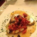 Swordfish Ligurian style