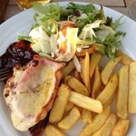 Chicken with Cheese & Bacon