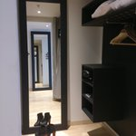 Wardrobe with space