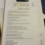 New revamped Lunch Menu!