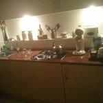 Studio's kitchen
